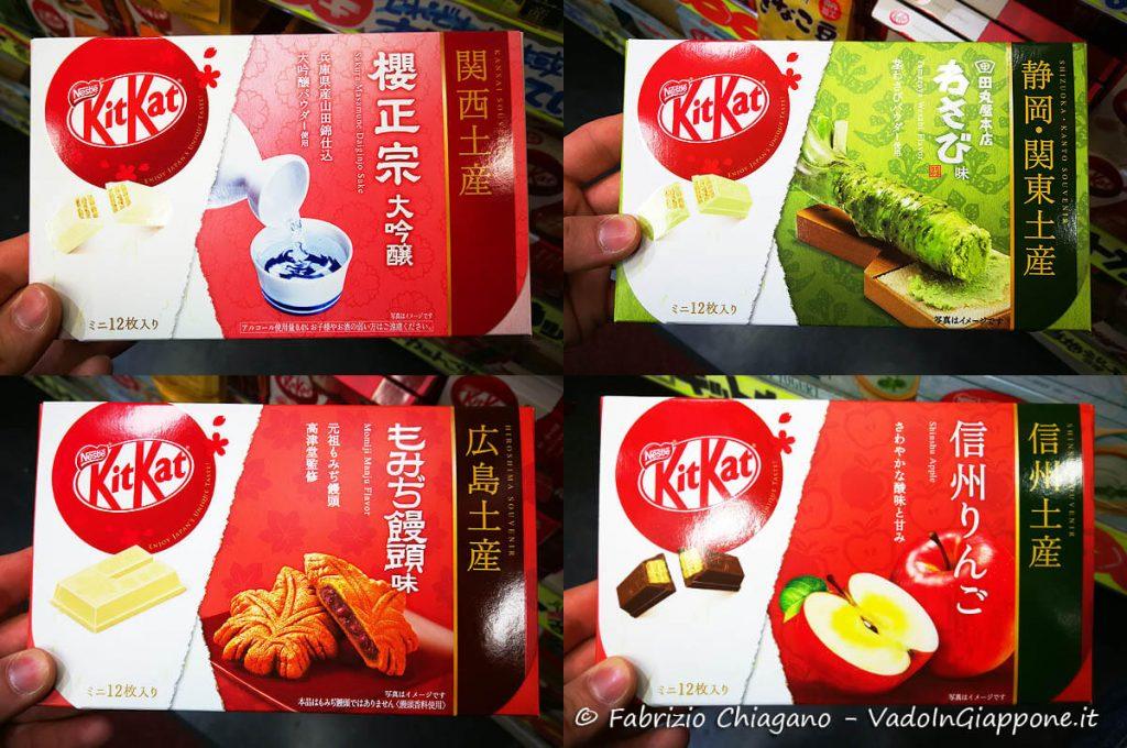 4 gusti particolari di KitKat da provare