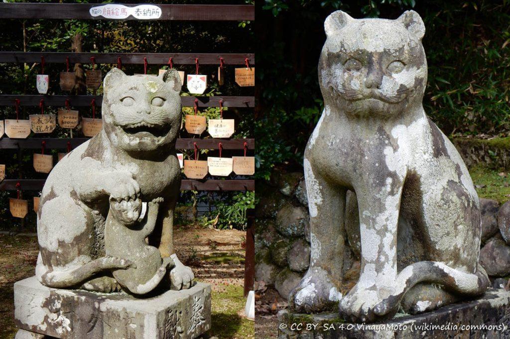 Komaneko al santuario Kotohira