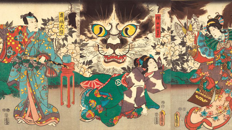 Gatti nella cultura e folklore giapponese