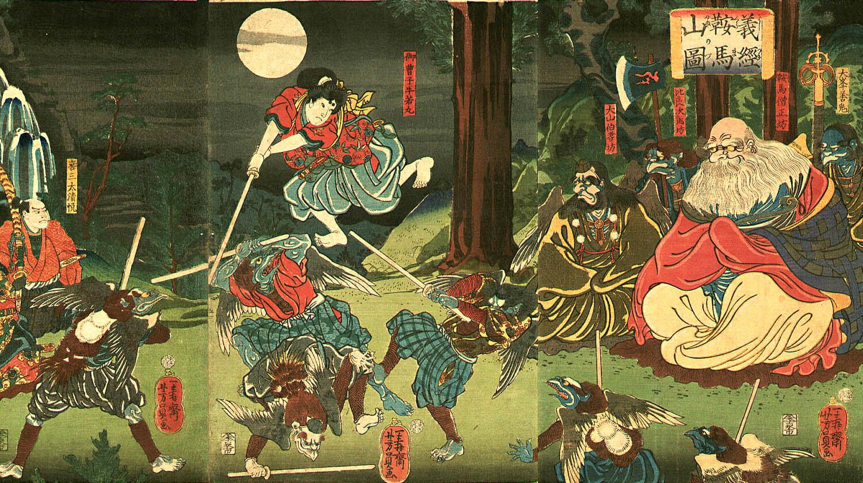 Tengu nel folklore giapponese