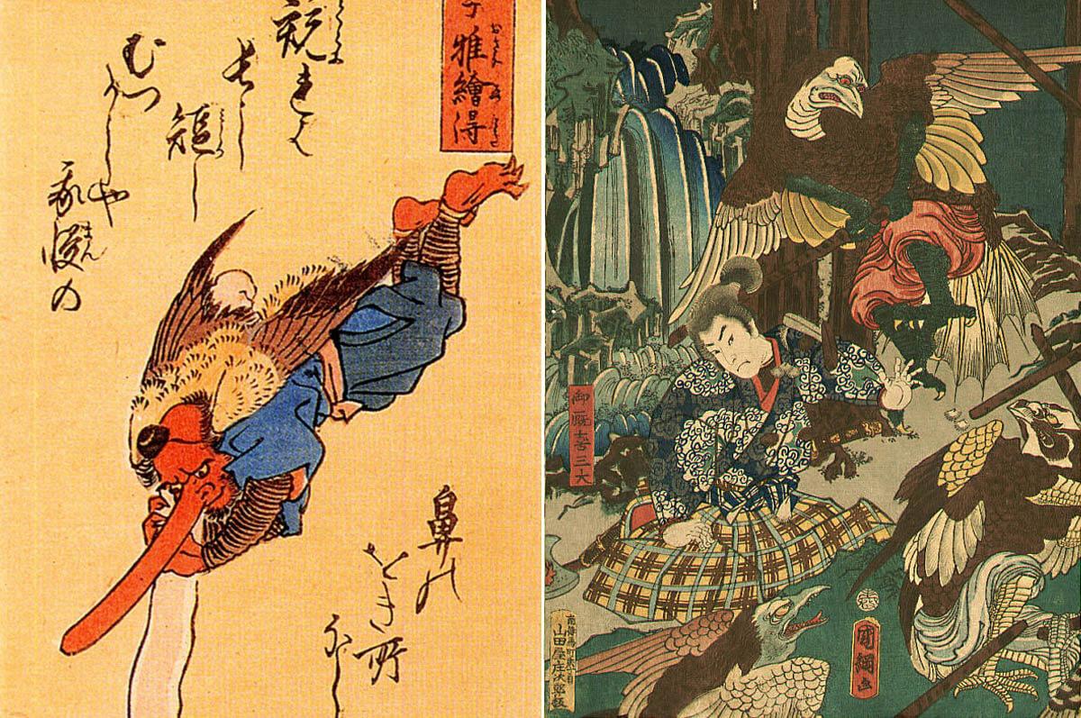 cultura-folklore-giapponese-tengu-daiten