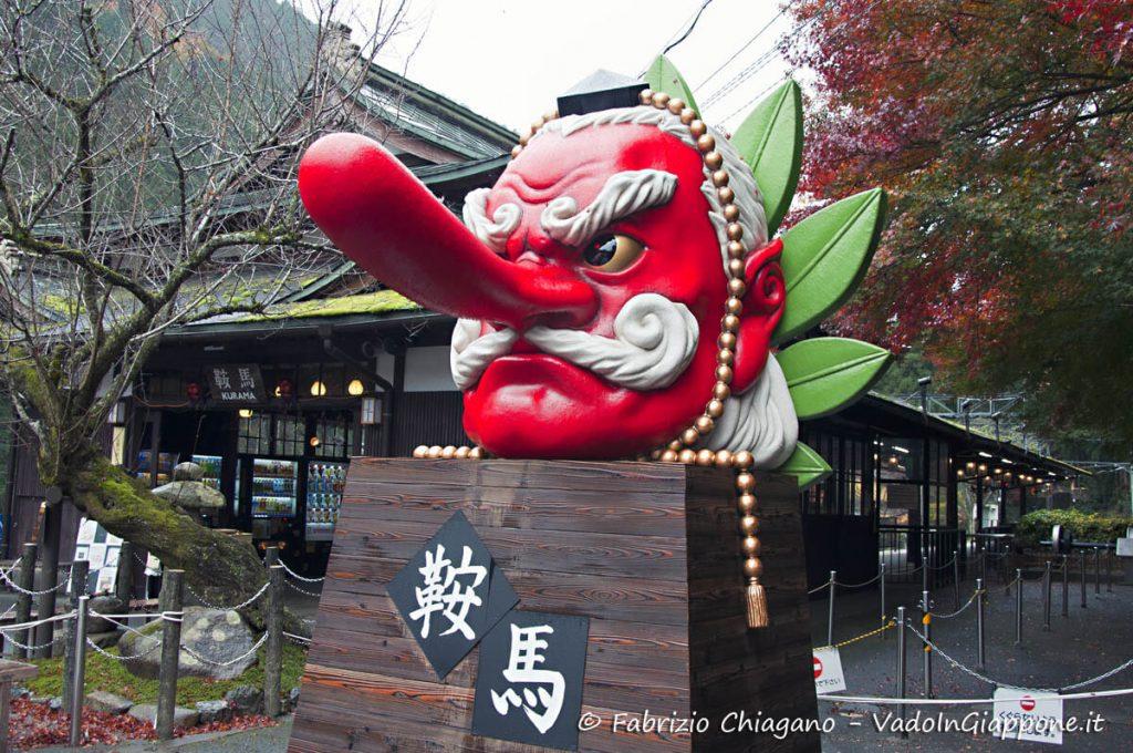 Tengu sul Monte Kurama, a Kyoto