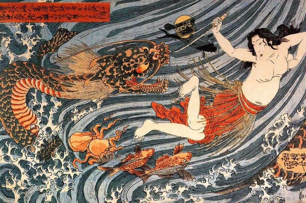 Ryujin, il Dio del mare