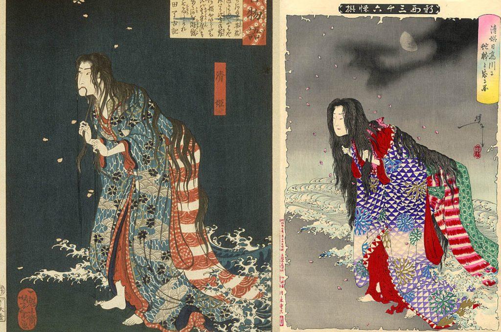 Kiyohime, la donna serpente del folklore giapponese