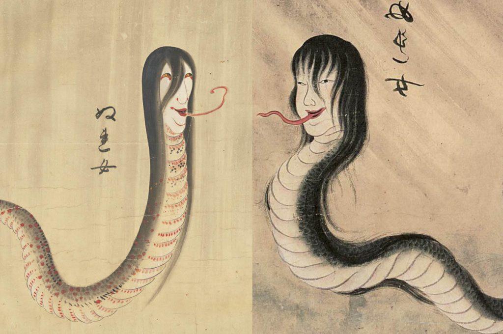 Nure-onna, yokai giapponese