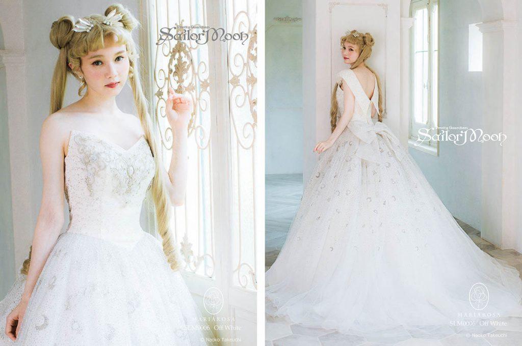 Abito da sposa a tema Principessa Serenity