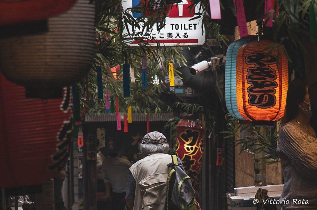 Diario di viaggio in Giappone di Vittorio Rota: Omoide Yokocho