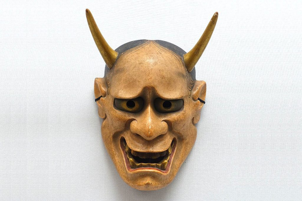 Maschere giapponesi Hannya