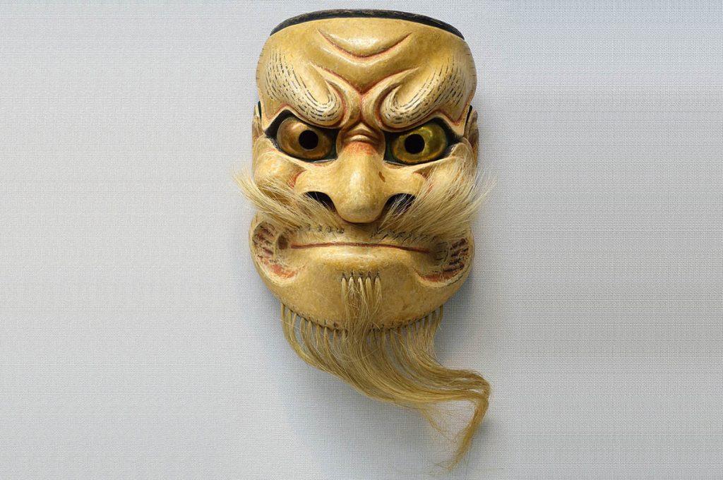 Maschere giapponesi Kijinmen