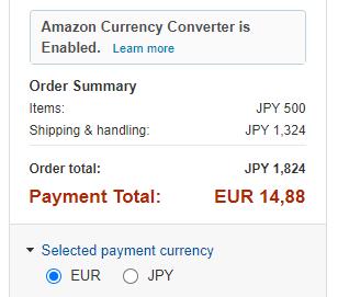 Come comprare su Amazon.jp: Carrello senza tasse doganali