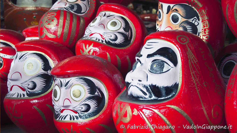 Bambole Daruma giapponesi