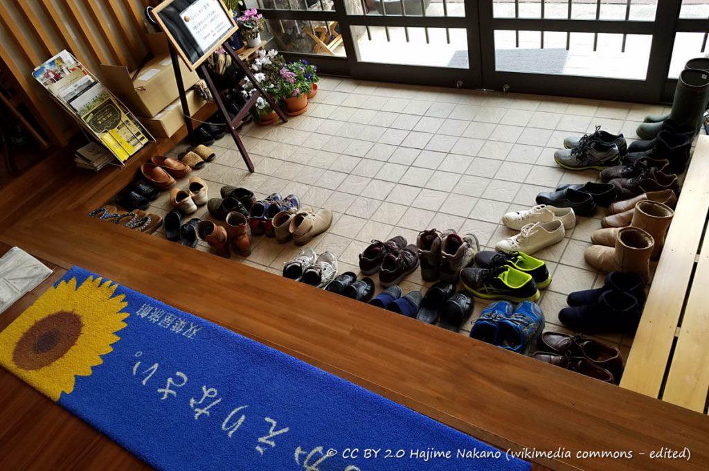 Case tradizionali giapponesi: Genkan
