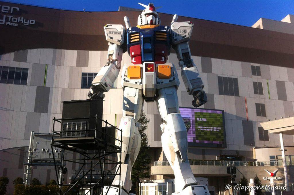 Gundam ad Odaiba, Tokyo